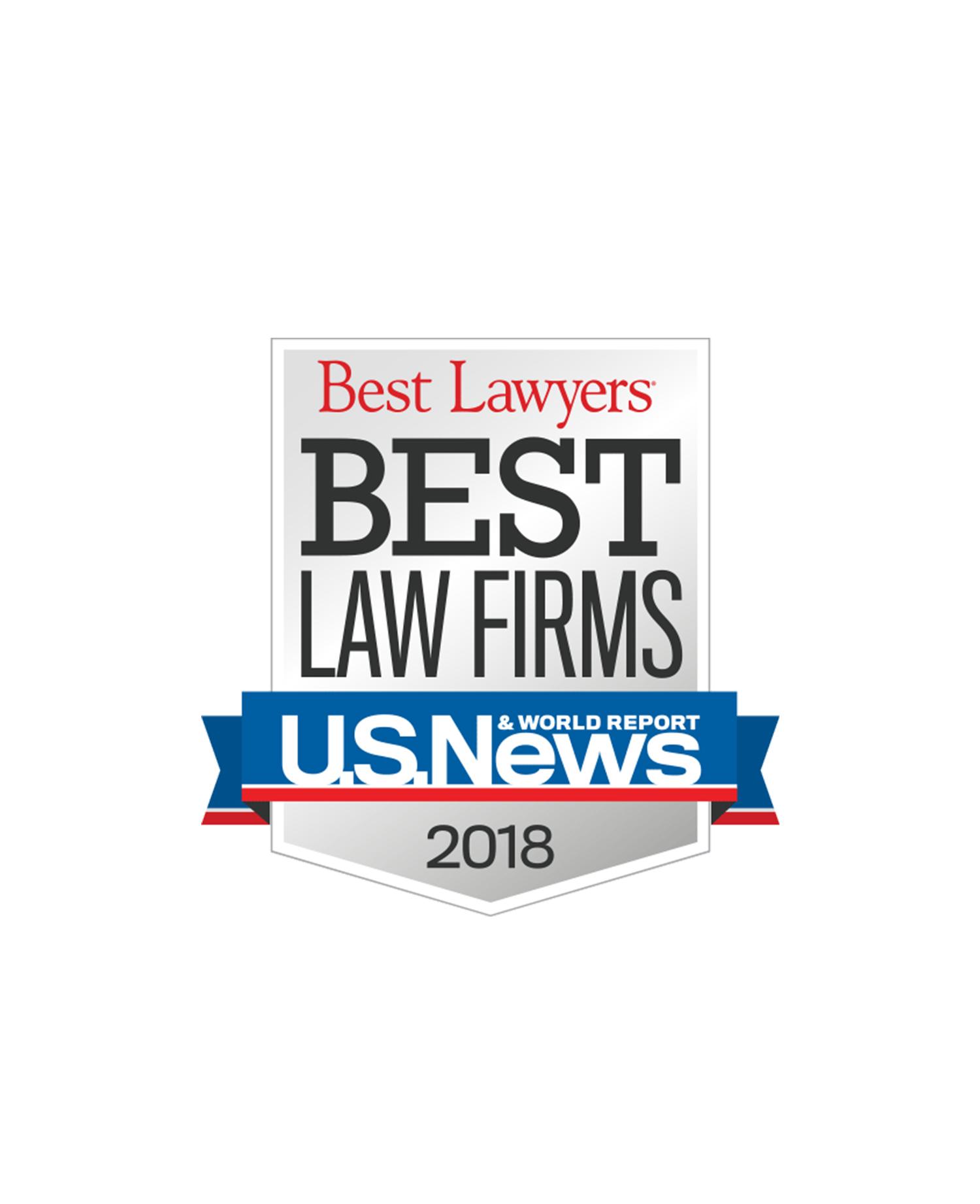 HRW Named a 2018 Best Law Firm | Hirsch Roberts Weinstein LLP